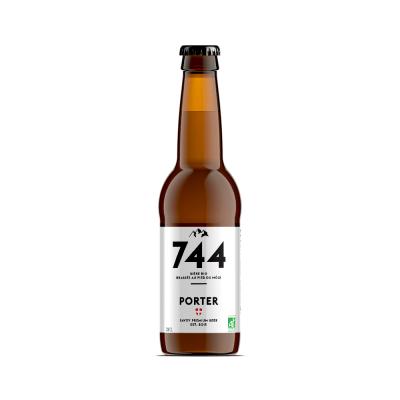 Bière Porter 33cl, Brasserie 744