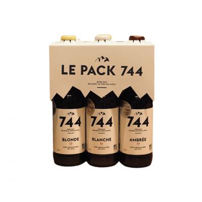 Bière Triple / Blanche / Blonde / Ambrée / IPA / Porter bio, le pack 744
